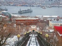 Владивостокский фуникулер в Приморье